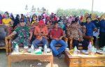 """Sertu Peri Hadiri HUT Tiyuh Mulya Kencono Kecamatan TBT Kabupaten Tulang Bawang Barat"""