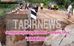 """Disinyalir Lemahnya Pengawasan dari Dinas Terkait, """"Jadi Pemicu Buruknya Pengerjaan Proyek Jembatan Penghubung Kota Metro Lampung Timur Kini Ambrol"""""""