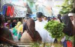 "MUSA-DITO : ""Turun Langsung Melihat Keadaan Pedagang Kecil di Pasar Kota Gajah Lamteng"""