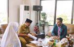 Kunjungan Dan Audensi Presiden (BEM) UNILA Ke kantor Walikota Bandar Lampung