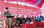Jati Agung Penutup Rangkaian Musrenbang PEMKAB Lampung Selatan Kucurkan Anggaran Pembangunan RP 787 Miliar Di 17 Kecamatan