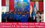 """Segenap Jajaran Team KNPI KOTA BANDAR LAMPUNG Resmi Dilantik"""