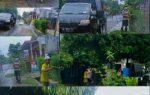 """Warga Perum Bumi Permai Lamteng, """"Gelar Aksi Jum'at Bersih Penyemprotan Disinfektan Disekitar Lingkungan Rumah Warga"""""""