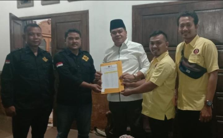 """DPK Peradah dan DPP Serdadu Temui Bupati Lampung Tengah, Sampaikan Kebutuhan Guru Agama Hindu"""