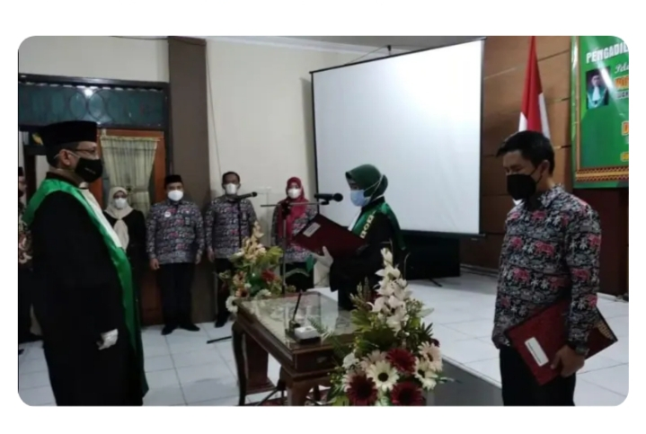 Wakil PA Gunung Sugih Resmi Dijabat Yopie Azbandi Aziz